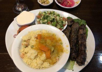 kofta kabob couscous